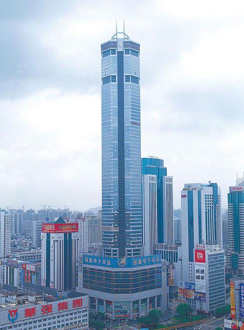 中国十大高楼排行榜