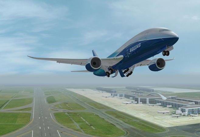 波音787飞机在远距离飞行时能比同类机型节省