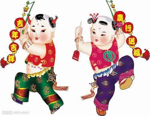 【恭喜发财】中国年画大全献给朋友们