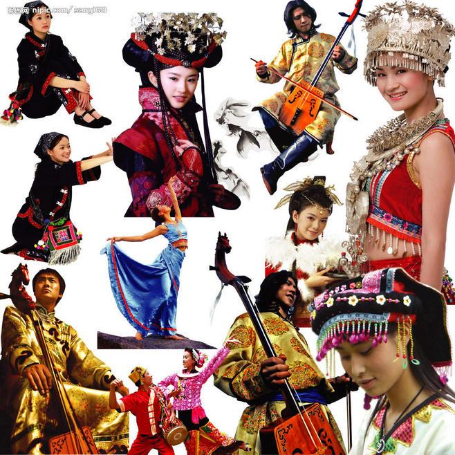 音乐故事吧吧 56个民族介绍之51 独龙族 爱我中华